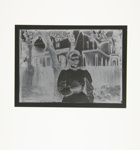 [Untitled, Women in Edwardian dress standing under a tree] ; Wells, Alice; 1972; 1988:0004:0016