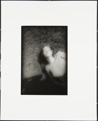 Untitled [Woman lying on grass]; Cooper, John; ca. 1983; 1983:0016:0025