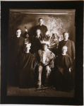 Untitled [Chasing Bear with Father Ambrose and Father Bernard]; Fiske, Frank B.; ca. 1903; 2009:0050:0007