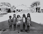 Untitled [Kids on sidewalk]; Riss, Murray; ca. 1970s; 1972:0194:0033