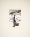 Untitled [Man and rocky hills]; Wood, John; ca. late 1960s; 1975:0012:0007