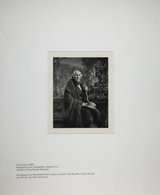 Sam Houston - 1857; 1971:0019:0001