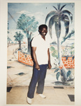 Untitled [Studio portrait]; Viditz-Ward, Vera; 1988; 2009:0055:0012