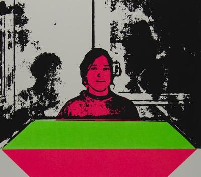 Joan From a Xerox By Joel Swartz; Lyons, Joan; 1969; 1971:0451:0001