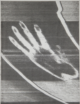 Hands / The Echo Of the Hand Picked Up By a Telecopier Across the Room; Sheridan, Sonia Landy; ca. 1974; 1981:0116:0035