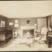 Untitled, (Living-room, fireplace and piano). ; Moulton-Erickson Photo Co.; c.a. 1890; 1977:0074:0005
