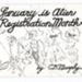 January is alien registration month; Murphy, C. B.; Z232.5 .Z88 Mu-Ja