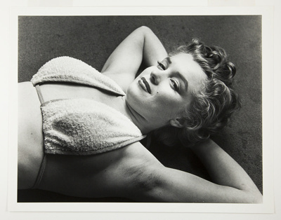 Marilyn Flirting; Halsman, Philippe; 1952; 1987:0013:0006