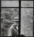 Untitled [Portrait of Ralph Eugene Meatyard through a window pane.]; Ritchie, Cranston; ca. 1960