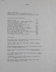 CV; Hill, Edward; Bloom, Susan; Manual; ca. 1978; 2000:0172:0002