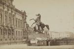 Statute sur le pont d'Anitschkine a St. Petersburg; Klodt, Pyotr; Lorens, Alfred; ca. 1860s; 1977:0064:0004