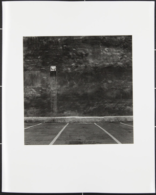 Untitled [Parking lot]; Cooper, John; ca. 1983; 1983:0016:0015