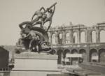 Donahue's Statue, Market & Battery Sts. ; Chadwick, Harry W. (1860-1933); 1906; 1978:0151:0052