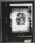 [Untitled, Reflection in window and movie posters]; Wells, Alice; 1967 ; 1972:0287:0253