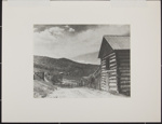 Untitled [Cabin by dirt path.]; Enos, Franklin; n.d.; 1972:0080:0001
