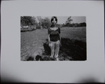Untitled [Barefoot woman]; Sample, Tricia; 1975; 1986:0008:0010