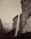 Lauterbrunnen [Staubbach Falls]; Sommer, Giorgio; ca. 1880s; 1977:0024:0006