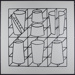 Untitled [Black and white geometric shapes on a grid]; Kapsalis, Thomas; 1970; 1972:0096:0024