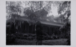 Untitled [House and ghostly shape]; Laughlin, Clarence John; ca. 1940s; 2011:0019:0006