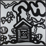 Untitled [House with chimney smoke]; Phillips, Tony; 1970; 1972:0096:0071