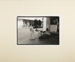 Untitled [Woman and figure]; Howald, Patricia; 1973; 2011:0016:0018