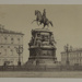 [Picture of statue of Nicholas I in St. Isaac's Square St. Petersburg, Russia]; Anonymous; ca. 1859; 1981:0112:0006