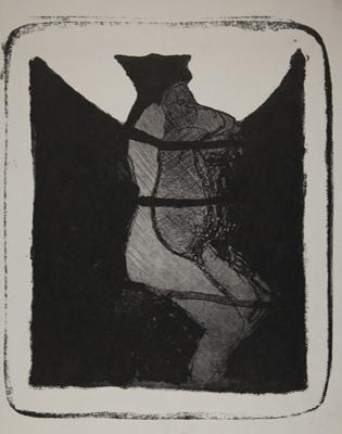 Diagram for a Puppet Dance; Fichter, Robert; ca. 1960-1970; 1971:0397:0002