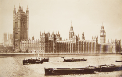 Houses of Parliment; Valentine, James; ca. 1860s; 1982:0009:0001