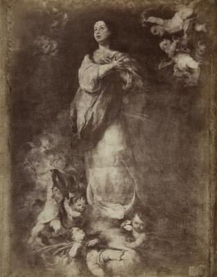 La Conception de la Vierge entouree de cherubins; Murillo, Bartolome Esteban; Laurent, Jean; undated; 1978:0149:0002