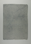 Untitled [Striped sheet] ; Lyons, Joan; 1973; 1974:0050:0008