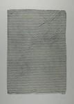 Untitled [Striped sheet] ; Lyons, Joan; 1973; 1974:0050:0008