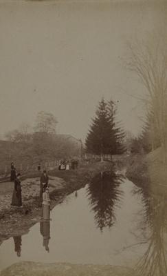 At Elmwood Park; Stanton, Henry; 1892; 1982:0015:0004