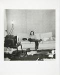 Untitled [Kid on couch]; Kaida Knapp, Tamarra; ca. 1977; 2011:0025:0019