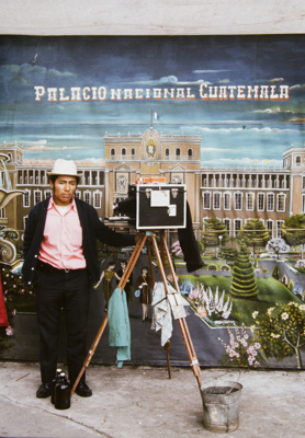 Itinerant Photographer With National Palace Backdrop; Parker, Ann; ca. 1973; 2009:0056:0025