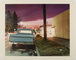 Untitled [Street at night]; Gilbert, Lorraine; 1982; 1983:0048:0003