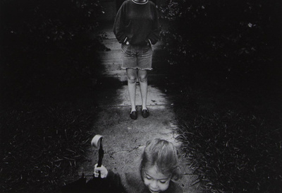 Untitled [Child and umbrella]; Riss, Murray; ca. 1970s; 1972:0194:0030