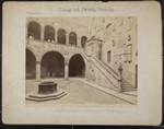 Palazzo del Podesta, Stairway; Fratelli Alinari; ca. 1890; 1979:0116:0009