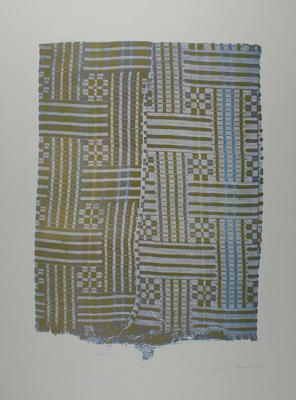 Untitled [Fabric] ; Lyons, Joan; 1973; 1974:0050:0003