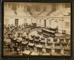 The Senate Chamber ; C.M. Bell Studios; ca. 1900; 1976:0003:0029
