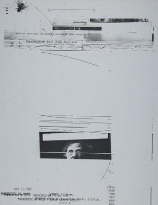 Untitled [Transmission No. 5]; Larson, William; 1973; 1981:0037:0002