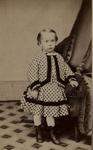 Untitled [Small child holding onto tassel] ; Jordan & Co.; ca. 1850; 1975:0031:0086