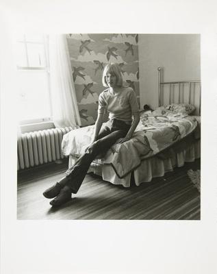 Untitled [Girl on bed]; Kaida Knapp, Tamarra; ca. 1977; 2011:0025:0014