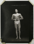 Untitled [Posing body builder]; Gay, Arthur; ca. 1920s -- 1940s; 1981:0013:0025