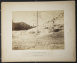 Pulpit Terrace, Mammoth Hot Springs; Haynes, F. J.; c.a. 1883; 1977:0045:0008