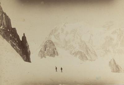 Vue de Mt. Blanc and Tour Ronde de Geant; Sella, Vittorio; ca. 1860-1900; 1979:0114:0003