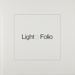 Light Folio text sheet; Harter, Donald; 1973; 1988:0001:0002