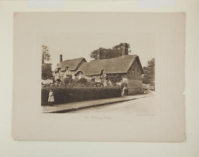 Ann Hathaway's Cottage; A. W. Elson & Co., Boston; 1897; 1974:0074:0003