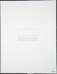 Line (The word appears in series of letters). ; Friedlaender, Bilgé; 1976; 1980:0012:0003