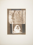Untitled [Bearded face]; Wood, John; ca. late 1960s; 1975:0012:0017