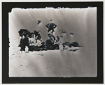 Untitled, [beach picnic] ; Wells, Alice; ca. 1970; 1976:0025:0006